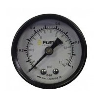 Fuelab CARB Fuel Pressure Gauge Dual  - Universal - 71512