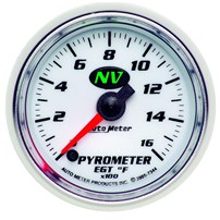 Autometer NV Series Pyrometer Gauges
