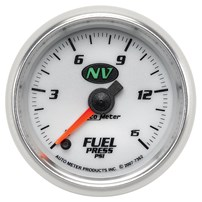 Autometer NV Series Fuel Pressure Gauges