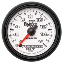Autometer Phantom II Series Pyrometer Gauges