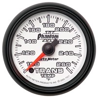 Autometer Phantom II Series Transmission Temperature Gauges