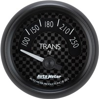 Auto Meter GT Series - Transmission Temperature Short Sweep Electric SIZE: 2 1/16