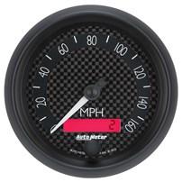 Auto Meter GT Series - Speedometer Elec. Programmable In-Dash Tachs & Speedos SIZE: 3 3/8