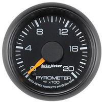 Auto Meter GM Factory Match - Pyrometer Gauge 0-2000°, 2-1/16