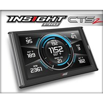 Edge Insight Pro CTS2 - 01-15 Duramax, 03-07 Dodge Cummins, 03-16 Powerstroke, 07-10 Gas Truck 4 Speed (V8)  - Free Next Day Air Shipping - 86100