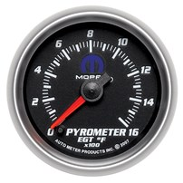Autometer Mopar Series EGT/Pyrometer Gauges