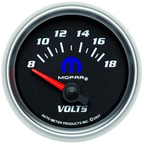 Autometer Mopar Series Voltmeter Gauges