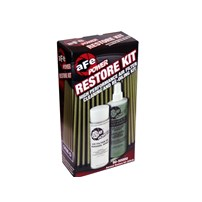 aFe Restore Kit (Cleaner w/Oil) (Blue and Gold)