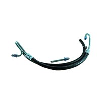 Borgeson Power Steering Hose Kit - OEM Style Rubber - 94-96 Dodge Cummins 5.9L - 925116
