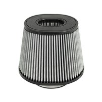 aFe Magnum FLOW Pro DRY S Air Filter - 5F x (9x7-1/2)B x (6-3/4 x 5-1/2)T x 7 H in
