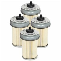 Pro GUARD D2 Fuel Filter (4 Pack) GM Diesel Trucks 92-00 V8-6.2/6.5L (td)