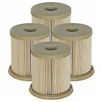 Pro GUARD D2 Fuel Filter (4 Pack) Dodge Diesel Trucks 97-99 L6-5.9L (td)