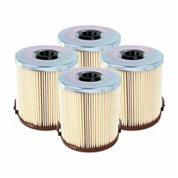 Pro GUARD D2 Fuel Filter (4 Pack) Ford Diesel Trucks 94-97 V8-7.3L (td-di)