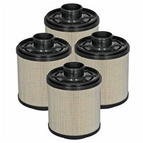 Pro GUARD D2 Fuel Filter (4 Pack) Ford Diesel Trucks 11-16 V8-6.7L (td)