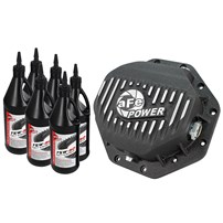 aFe Rear Pro Series Differential Cover w/Gear Oil (Machined) - 2014-2018 Ram 1500 3.0L EcoDiesel (Chrysler 9.25