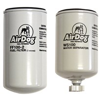 AirDog Replacement Filters - 1 Fuel Filter (FF100-2) & 1 Water Separator Filter (WS100)