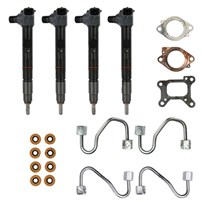 Alliant Power Remanufactured L5P Common Rail Injector Bank Kit - 17-20 GM Duramax L5P