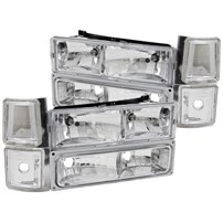 Anzo Crystal Clear Headlight Assembly - 94-98 GM Fullsize - 111099