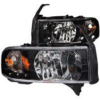 Anzo Crystal Headlight Assembly