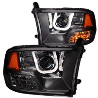 Anzo Projector Headlights w/U-Bar