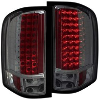 Anzo Smoked LED Tail Lights - 07.5-14 Chevy Silverado - 311159