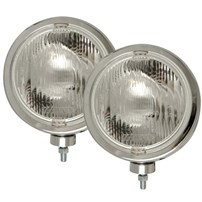 Anzo Slimline Chrome Off-Road Lights - Universal