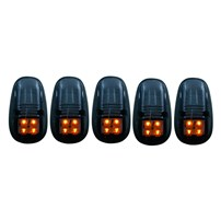 Anzo Smoked LED Cab Lights - 99-02 Dodge Ram (With Factory Cab Lights) - 861098
