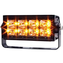 Anzo Rugged High Intensity Amber LED Off-Road Light - Universal