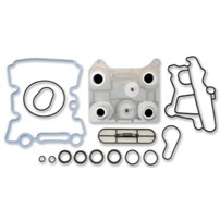 Alliant Power Engine Oil Cooler Kit - 04-07 Ford Diesel - 04-10 E Series - AP63451