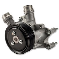 Alliant Power Water Pump (Secondary water pump with single alternator) - 11-15 Ford 6.7L Powerstroke - AP63506