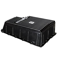 ATS High Capacity Aluminum Transmission Pan - 11-19 Ford Powerstroke 6.7L w/6R140 - 3019003368