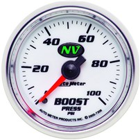 Autometer NV Series Boost Gauges