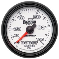 Autometer Phantom II Series Boost Gauges
