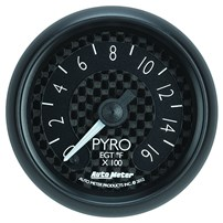 Autometer Z Series Pyrometer Gauges