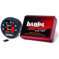 Banks Six-Gun Diesel Tuner w/Banks iDash-1.8 DataMonster - 2006-07 Dodge 5.9L