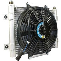 BD Diesel Xtruded Auxiliary Trans Cooler - Universal
