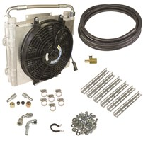 BD Diesel Xtruded Double-Stacked Auxiliary Trans Cooler Kits