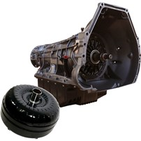BD Diesel Ford 4R100 Transmission & Converter Package - 99-03 Ford Powerstroke 2wd c/w Filter Kit