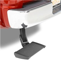 Bestop TrekStep Bed Step - 10-18 RAM 2500/3500 (WON'T FIT DUAL EXHAUST SYSTEM) - 75306-15