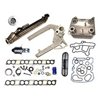 Bostech EGR Cooler Kit - Intake Gasket Set, Oil Cooler, Oil Cooler Gasket Set, Oil Cooler Screen, Intake Manifold, EGR Valve