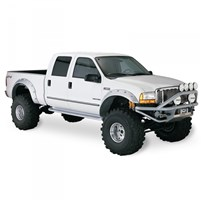 Bushwacker Cut-Out Style (Front) Fender Flares - 1999-2007 Ford F-250/350 Super Duty