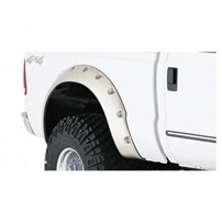 Bushwacker Cut-Out Style (Rear) Fender Flares - 1999-2010 Ford F-250/350 Super Duty (Short Bed)