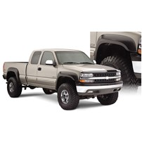 Bushwacker Extend-A-Fender Flares (Extended Coverage - Front Flare Height - 5.93