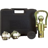 B&W Hitch Gooseneck OEM Ball and Chain Safety Kit (Fits GM/Ford/Nissan with Factory Puck System)