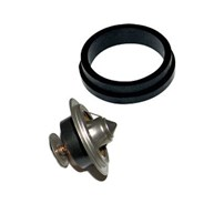 Cummins Thermostat and Thermostat Housing Cover Gasket - 89-93 5.9L Cummins - 3923331, 5292738