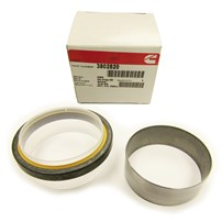 Cummins Front Crank Seal with Wear Sleave - 89-12 Dodge Cummins - 3802820