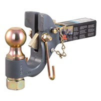 Curt SecureLatch Receiver-Mount Ball & Pintle Hitch
