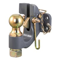 Curt SecureLatch Ball & Pintle Hitch
