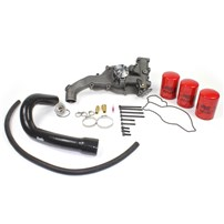 Diesel Site Waterpump with Coolant Filter Kit - Early 99-03 Ford Powerstroke 7.3L
