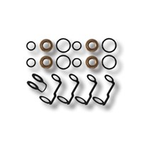 D Tech Injector and Return Line Kit Both Sides - 01-04 GM Duramax - DT660021